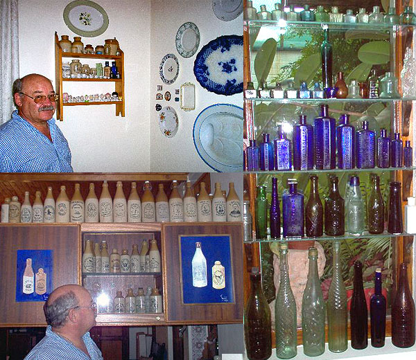 Antique Bottles Collections